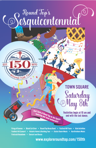 Round Top's 150th Celebration