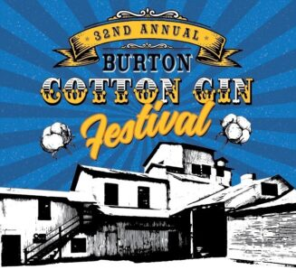 32nd Annual Burton Cotton Gin Festival